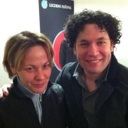 avec Gustavo Dudamel (2013)